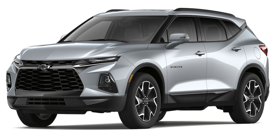 Chevrolet Blazer 2019 SUV color plata brillante