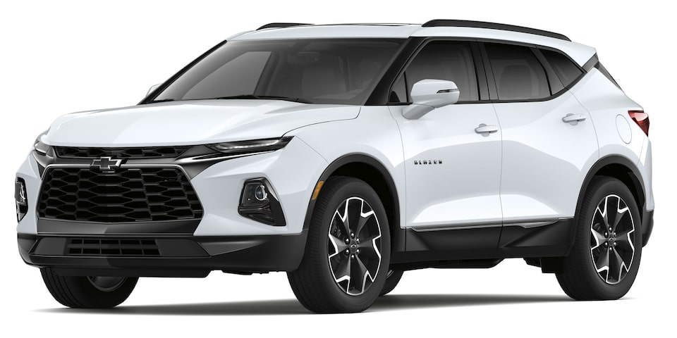 Chevrolet Blazer 2019 SUV color blanco