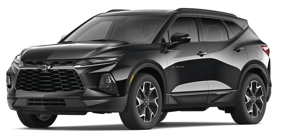 Chevrolet Blazer 2019 SUV color negro